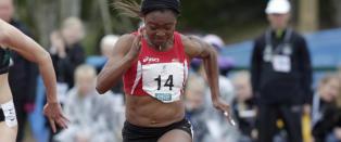 Okparaebo med ny mesterskapsrekord - Ndure slet i for sterk vind