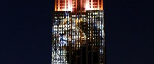 L�ven Cecil lyste opp Empire State Building