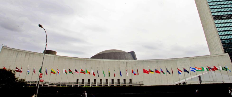 Utviklingsplanen til FN ble vedtatt til st�ende applaus