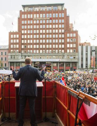 Striden om eiendomsskatt i Oslo vil prege Arbeiderpartiets skattepolitikk fram mot 2017
