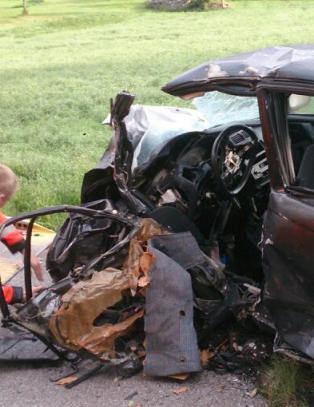 Tre omkommet i trafikkulykke i Hallingdal
