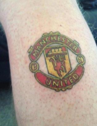 City-supporteren har United-tatovering. Og det er et godt minne