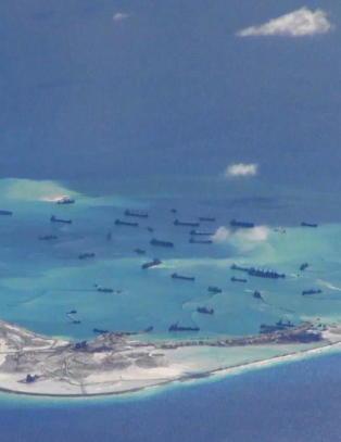 USA vil sette en stopper for Kinas bygging av kunstige �yer og milit�re anlegg i S�r-Kina-havet