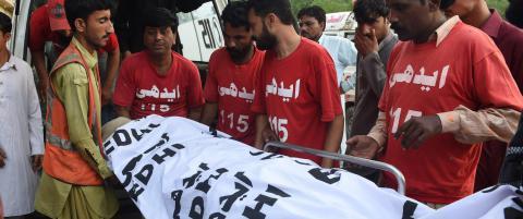Shafqat var 15 �r da han skal ha beg�tt drapet. N� er den omstridte d�dsdommen fullbyrdet
