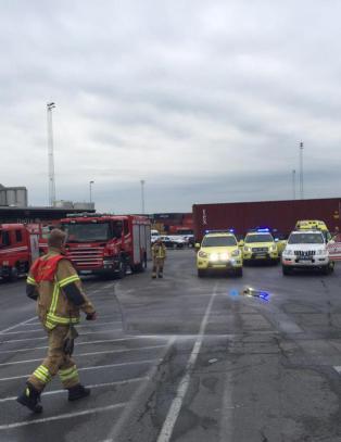 Ulykke med farlig gods i Oslo