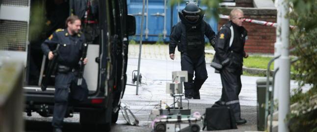 Bombelignende gjenstand funnet etter Oslo-skyting