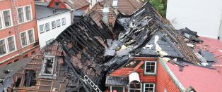 Politiet i Bergen: - Vi har ingen grunner for � si at brannen er p�satt
