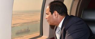 Ny Suez-kanal klar til �pning