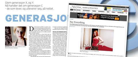 Plagiat i Dagbladet-artikkel