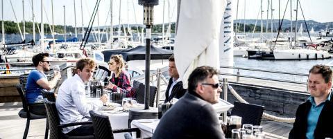 Onda Sea: God sj�mat og bryggas kanskje beste beliggenhet