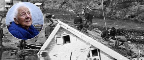 Olina (101) flyktet for livet da fjellet falt. Tsunamien som fulgte drepte 40