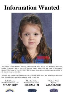 �Baby Doe� (4) funnet d�d i plastsekk: Ingen vet hvem hun var, men n� avsl�rer pollen hvor hun kommer fra