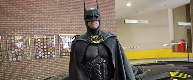 �Batman� viet livet til kreftsyke barn - s�ndag ble han p�kj�rt og drept