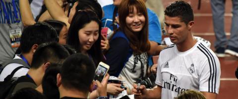 Derfor er Cristiano Ronaldo verdens mest gavmilde idrettsstjerne