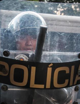 Drapsb�lge over Brasil: POLITIET er hovedmistenkt
