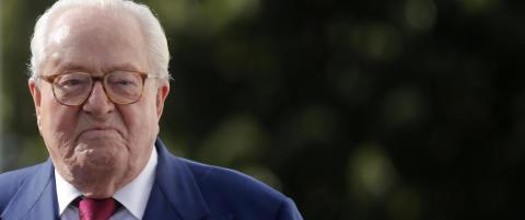 Jean-Marie Le Pen kastet ut av partiet han stiftet