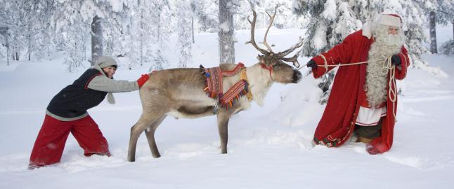 Den finske julenissen er konkurs