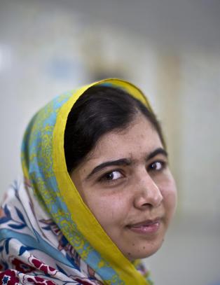 Malala fikk bare A-er p� vitnem�let