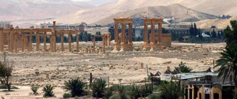 - IS sprengte oldtidstempel i Palmyra