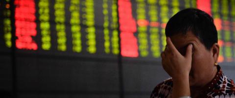 Kina-b�rsene fortsetter � falle