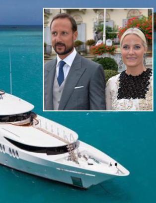 Luksus-yachten fra kronprinsfamiliens ferie spores til skatteparadis