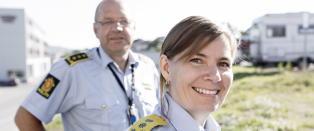 Ellen Katrine H�tta leder landets beste politidistrikt