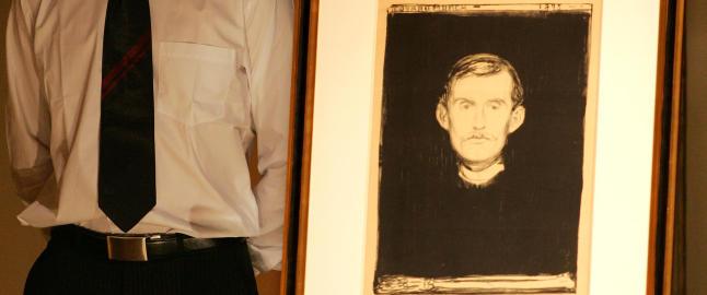 Kunstsamler krever tilbake Munch-litografi beslaglagt hjemme hos Gjermund Cappelen