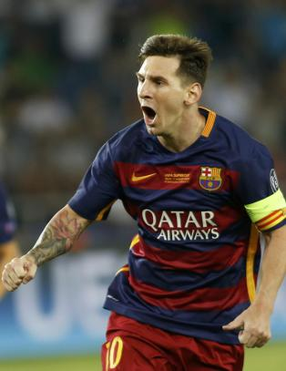 Messi er ��rets spiller i Europa�