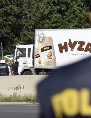 Skrekkfunn i �sterrike: - Migrantene var trolig d�de f�r lastebilen kom inn i landet