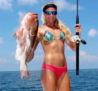 Darcie vil gj�re fisking sexy: -De fleste f�r sjokk n�r de ser bildene
