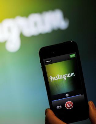 Lei av hvite kanter p� Instagram?