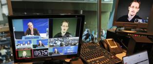 Snowden f�r Bj�rnson- prisen p� tom stol