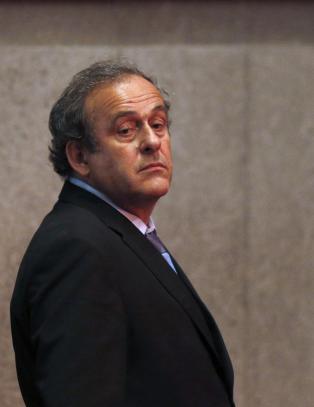 Platini bekrefter: - Gir seg som UEFA-president