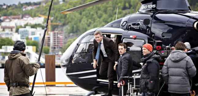Russiske myndigheter oppr�rt over  TV 2-serie