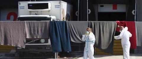 Fire framstilles for fengsling etter at 71 flyktninger d�de i en lastebil