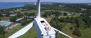 Dronepilot fant solslikker 61 meter over bakken