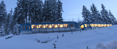 Sveitsisk firma lanserer eget tog for kinesere