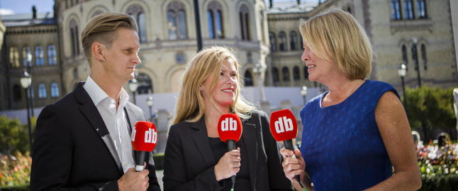 Sender 60 timer direkte valg-TV foran Stortinget