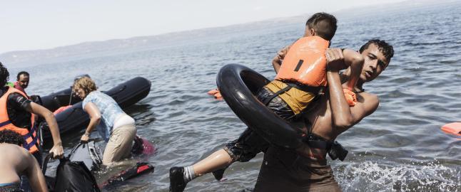 Danske Redd Barna: Ikke del bilder av d�de flyktning-barn