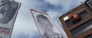 Henger 20 meter over bakken - krever � snakke med Milj�direktoratet