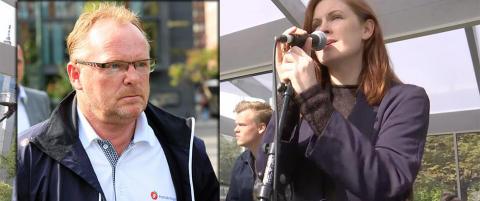 - Jeg p�st�r ikke at Per Sandberg g�r rundt og hater