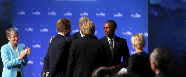 Obama til Brende: - Hvis vi kunne tidoblet Norge, hadde ting g�tt mye bedre i verden