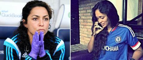 Russisk lege skaper storm i Chelsea-drakt: - Ute etter Evas jobb?