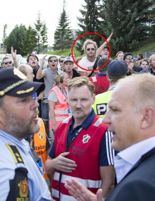 Talsmann for norske supportere var med p� hetsen av Fagermo