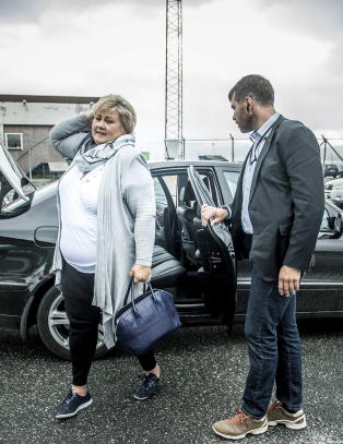 Erna Solberg: - Klokt tenkt av Trude Drevland