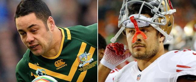 Rugbystjernen sjokkerer i NFL: - Det skjer noe spektakul�rt hver gang han har ballen