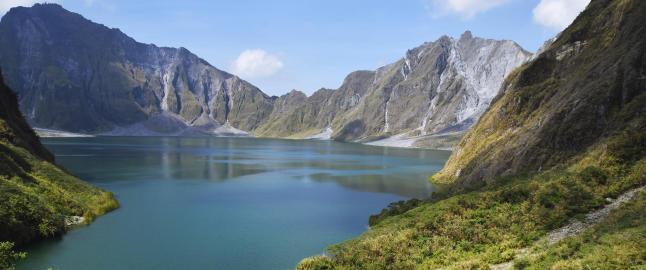 Da vulkanen Pinatubo i 1991 v�knet for f�rste gang p� 500 �r, skapte den en ny turistattraksjon
