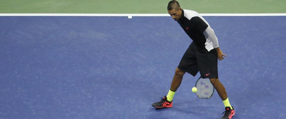 Tennislegende om Kyrgios: - Han oppf�rer seg som en treskalle