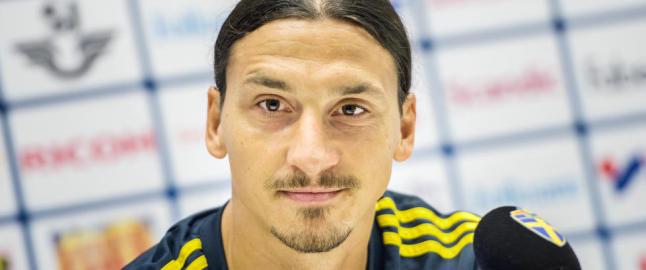 Slakter Zlatans sinte svar i m�te med TV-profil