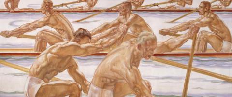 Her er Hitlers Nazi-kunst p� utstilling i Norge